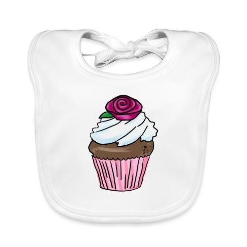 Lekkere cupcake om te genieten - Organic Baby Bibs
