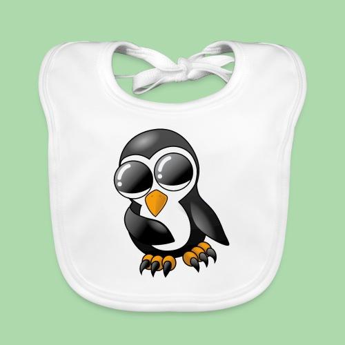 Pengu der keine Pinguin - Baby Bio-Lätzchen