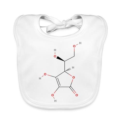 Vitamin C Molecule - Colored Structural Formula - Hagesmække af økologisk bomuld