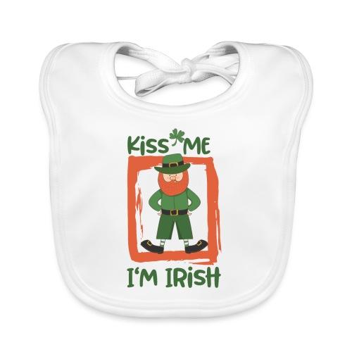 Kiss me - I'm Irish: St. Patrick's Day - Baby Organic Bib