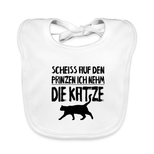 Katze Katzen Katzenliebhaber Geschenk Katzenliebe - Baby Bio-Lätzchen