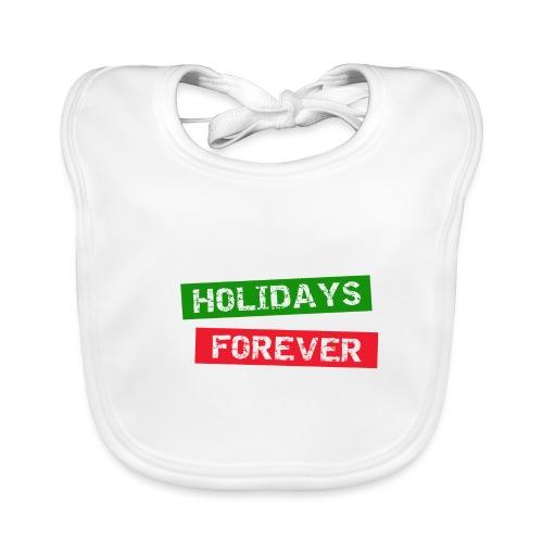 holidays forever - Baby Bio-Lätzchen