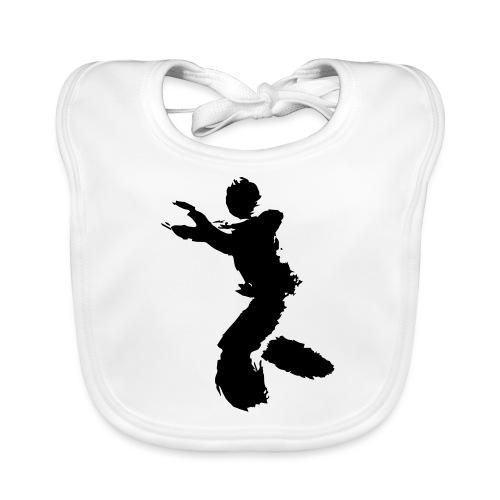 Wing Chun / Kung Fu Tusche Figur VEKTOR - Baby Organic Bib