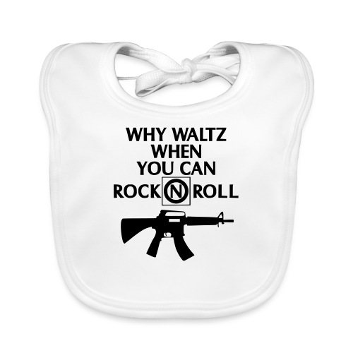 lost boys why waltz - Baby Organic Bib