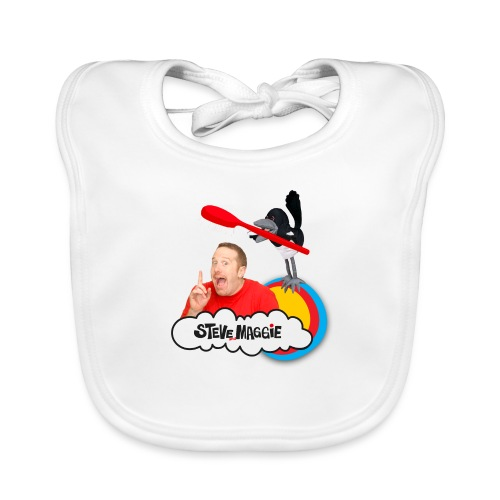 Brush Your Teeth with Steve and Maggie - Organic Baby Bibs