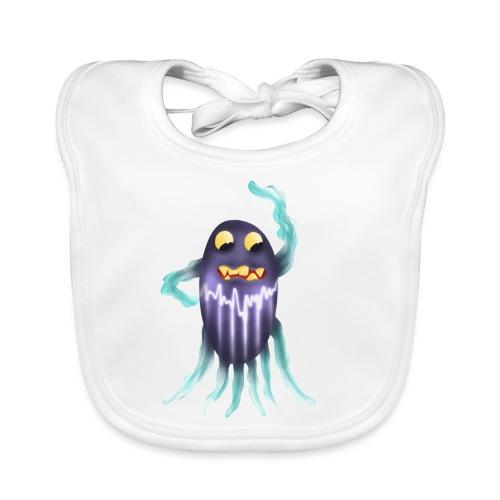 Blitzgeist-Krakenmonster - Baby Bio-Lätzchen