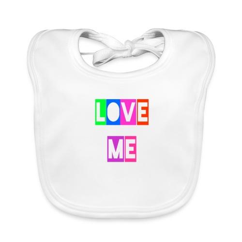 LoveMe - Babero de algodón orgánico para bebés