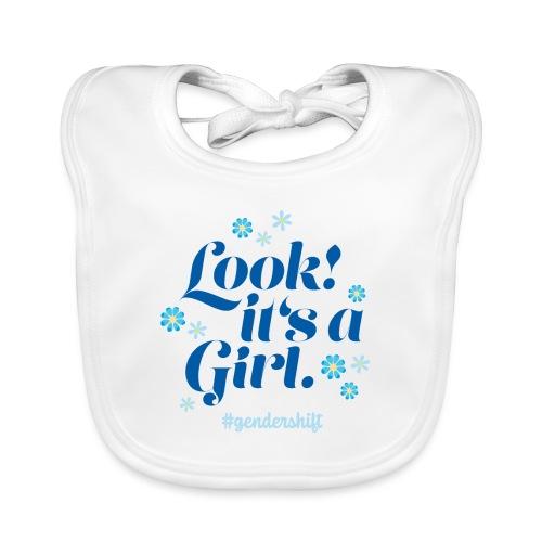 Look! It's a Girl. - Baby Bio-Lätzchen