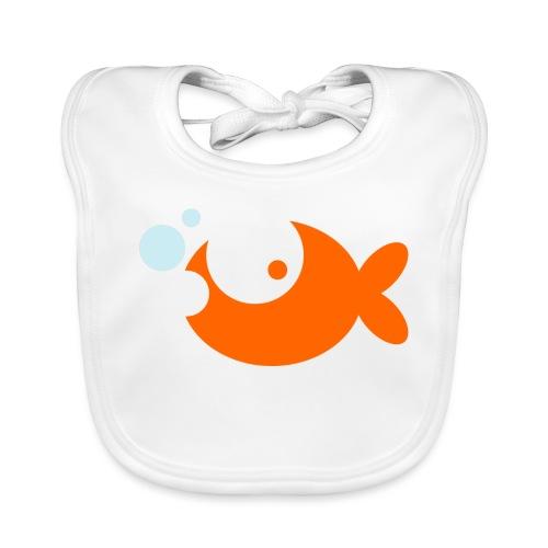 Goldfish Vector - choose design colours - Organic Baby Bibs
