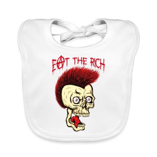 MC VICE - Eat The Rich (Vintage / For White) - Baby Bio-Lätzchen