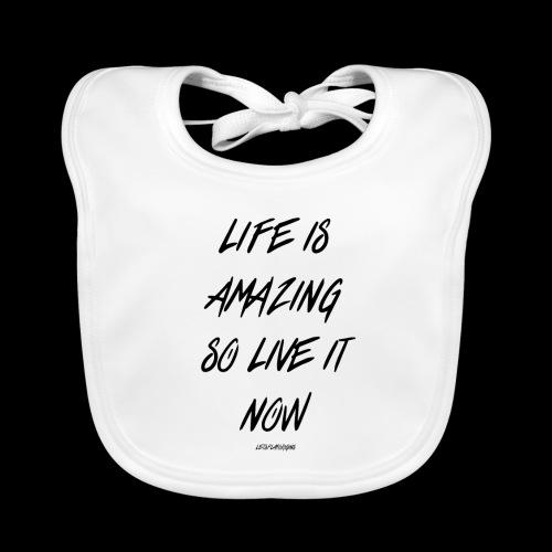Life is amazing Samsung Case - Organic Baby Bibs