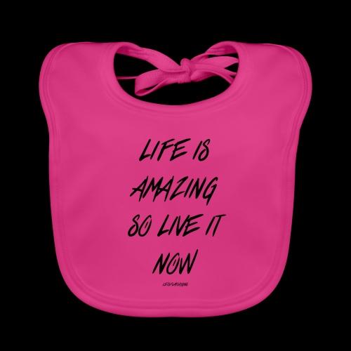 Life is amazing Samsung Case - Baby Organic Bib