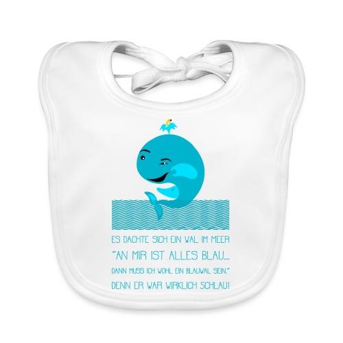 Blauwal - Baby Bio-Lätzchen