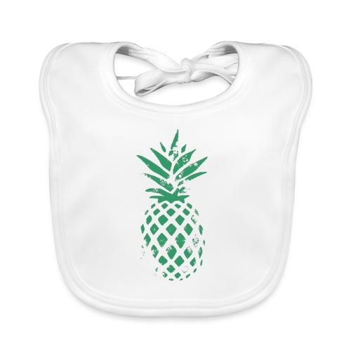 Ananas vert - Bavoir bio Bébé