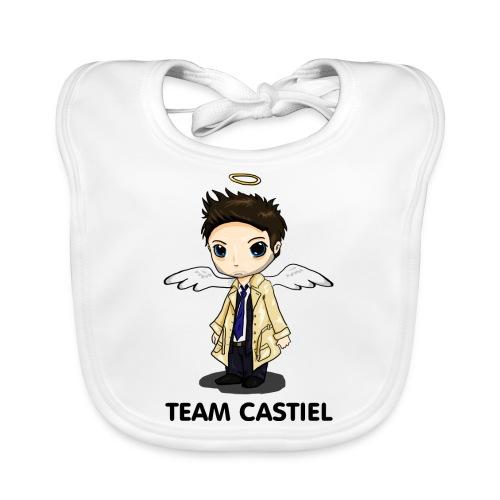 Team Castiel (light) - Organic Baby Bibs