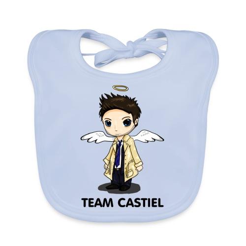 Team Castiel (light) - Baby Organic Bib