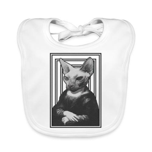 CAT LISA - Babero de algodón orgánico para bebés