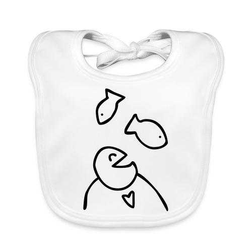 visman3 - Bio-slabbetje voor baby's