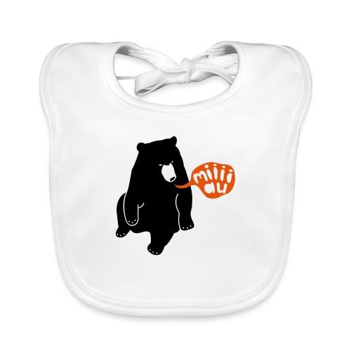 Bär sagt Miau - Baby Bio-Lätzchen