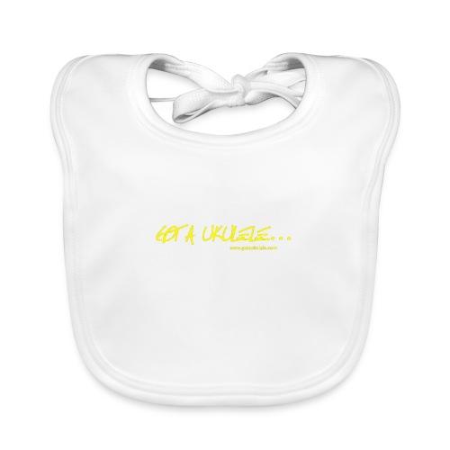 Official Got A Ukulele website t shirt design - Organic Baby Bibs