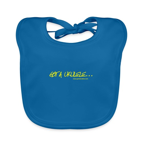 Official Got A Ukulele website t shirt design - Organic Baby Bibs