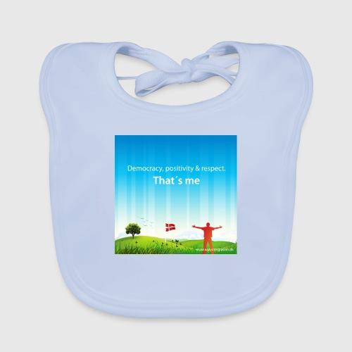 Rolling hills tshirt - Baby økologisk hagesmæk