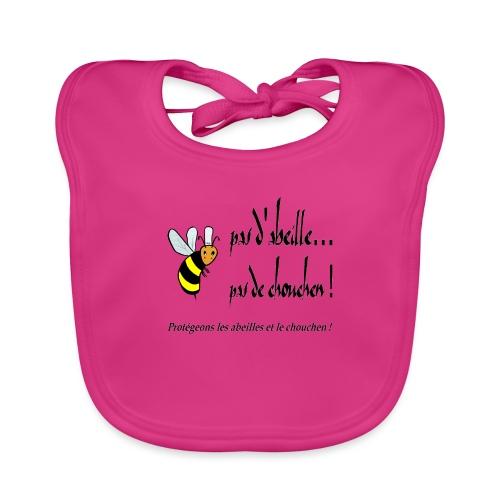 Pas d'abeille, pas de chouchen - Bavoir bio Bébé