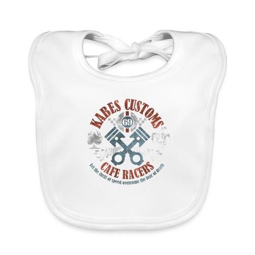 Kabes Cafe Racers T-Shirt - Baby Organic Bib