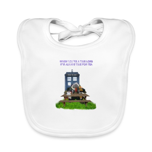 TIME AND SPACE AND TEA - Baby Organic Bib