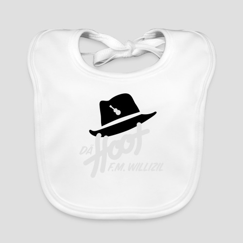 daeHoot_Shirt_Logo1_2c - Baby Bio-Lätzchen