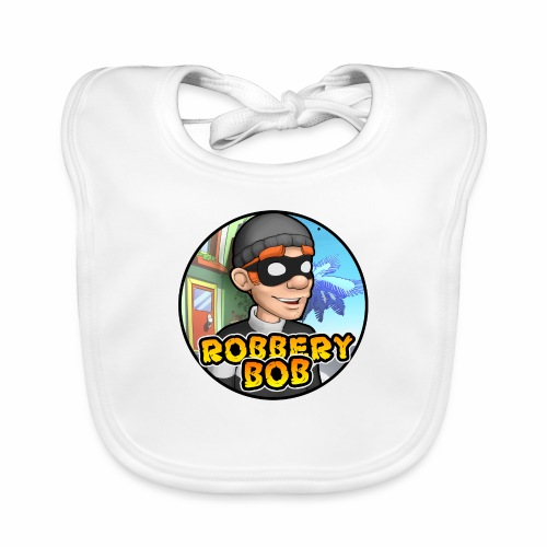 Robbery Bob Button - Organic Baby Bibs