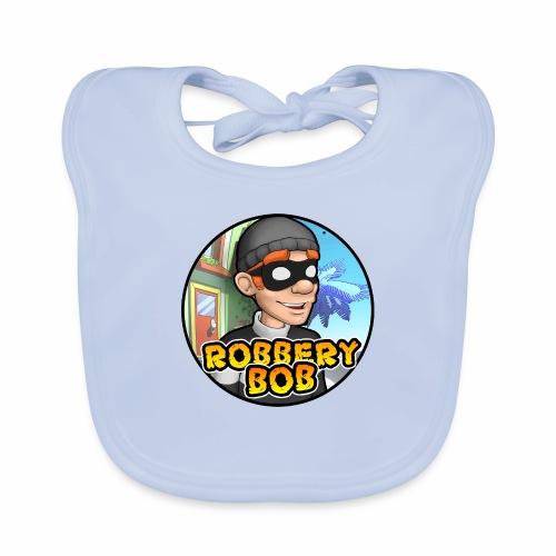 Robbery Bob Button - Baby Organic Bib
