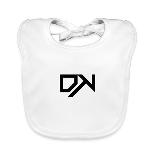 DewKee Logo T-Shirt Black - Baby Organic Bib