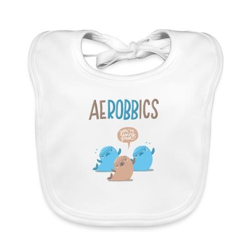 Aerobbics funny - Baby Bio-Lätzchen