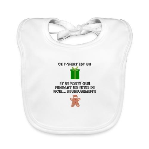 T-shirt cadeau de Noël - Bavoir bio Bébé