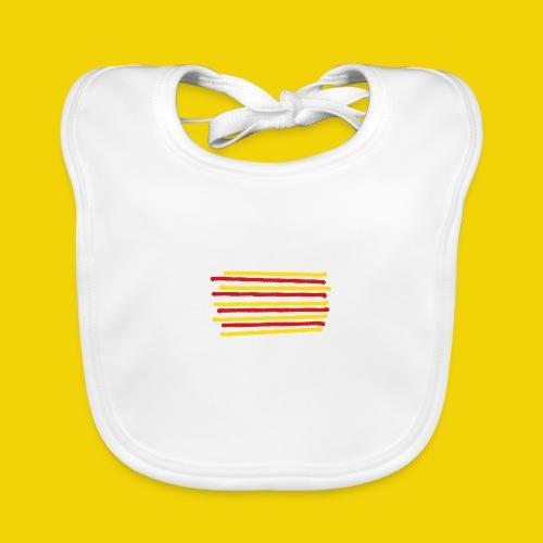 Catalonia Scratch - Baby Organic Bib