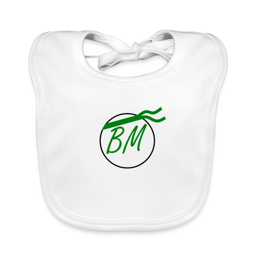 Braminer army logo - Baby Organic Bib