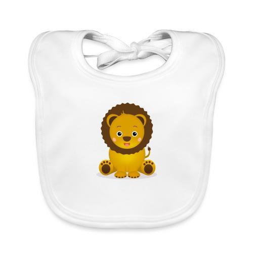 Baby Löwe Leon - Baby Bio-Lätzchen