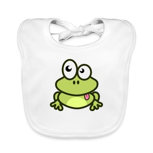 Frog Tshirt - Baby Organic Bib