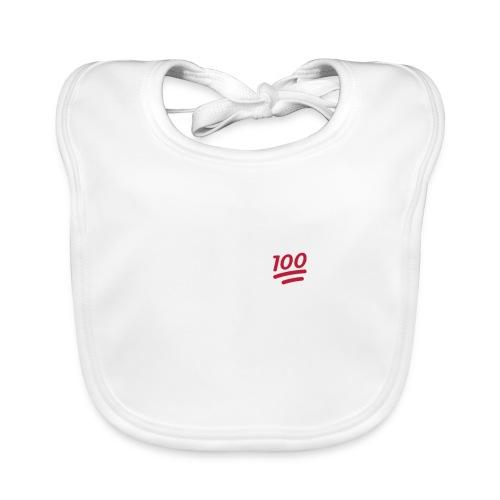 KEEP IT 100 WIT png - Bio-slabbetje voor baby's