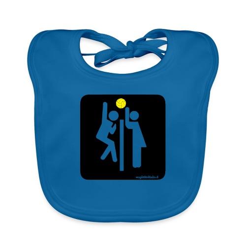 Toilet Volley - Bavaglino ecologico per neonato
