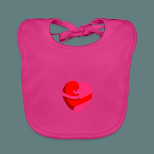 hearts hug - Bavaglino ecologico per neonato