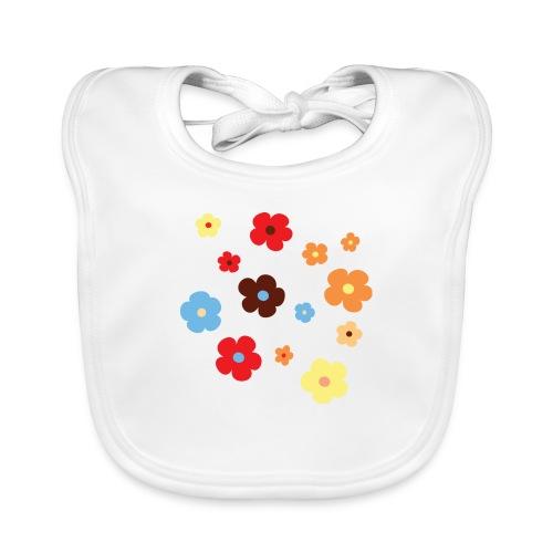 bloemmetjes - Bio-slabbetje voor baby's