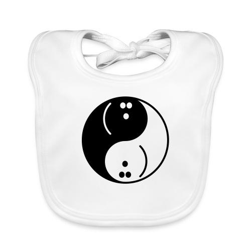 Bowling Yin-Yang - Baby Organic Bib