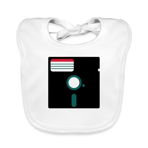 5 1/4 inch floppy disk - Vauvan luomuruokalappu