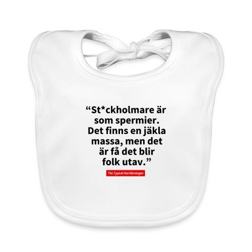 The Typical Stockholmare - Ekologisk babyhaklapp