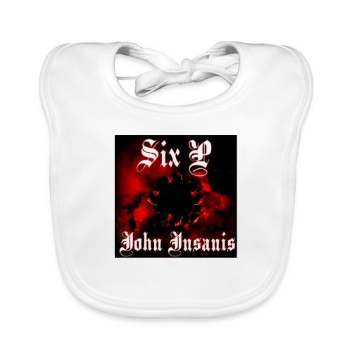 Six P John Insanis T-Paita - Vauvan luomuruokalappu
