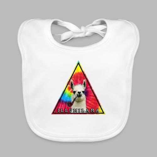Illumilama logo T-shirt - Baby Organic Bib
