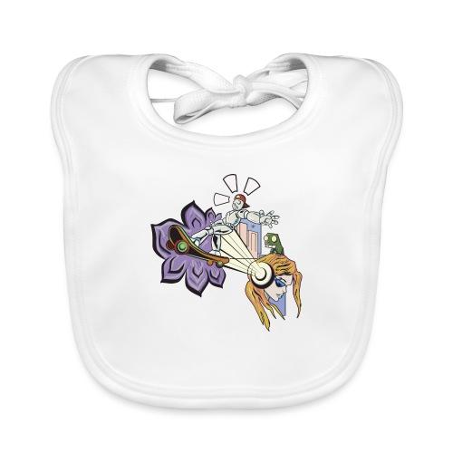 Spring Doodle - Bio-slabbetje voor baby's