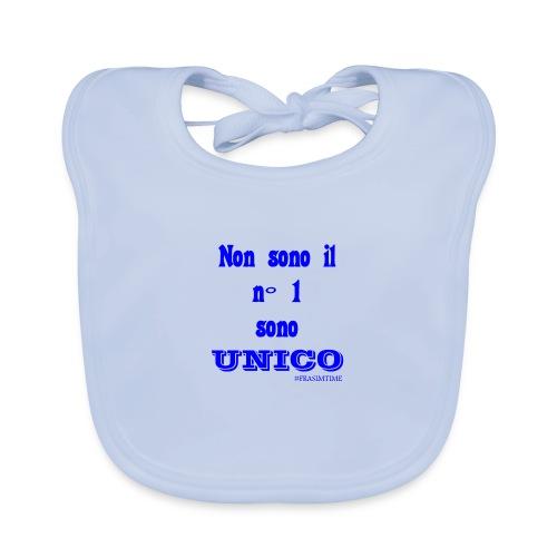Unico #FRASIMTIME - Bavaglino ecologico per neonato